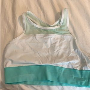 Aerie Hugh neck sports bra